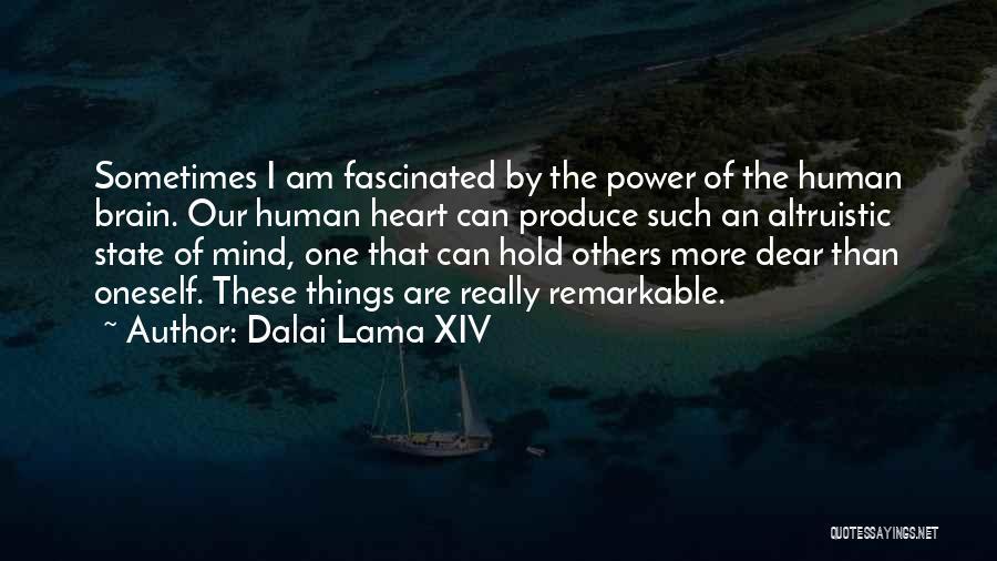 Power Of Human Mind Quotes By Dalai Lama XIV