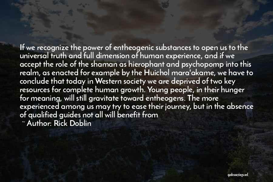 Power Of Human Mind Quotes By Rick Doblin