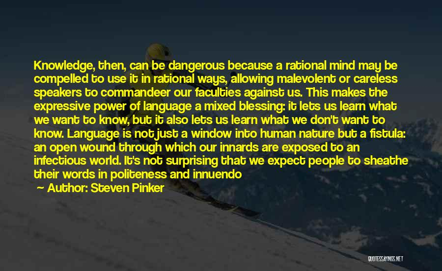 Power Of Human Mind Quotes By Steven Pinker