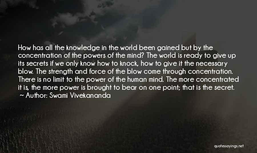 Power Of Human Mind Quotes By Swami Vivekananda