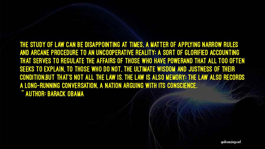 Power Of Law Quotes By Barack Obama
