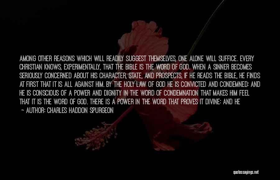 Power Of Law Quotes By Charles Haddon Spurgeon