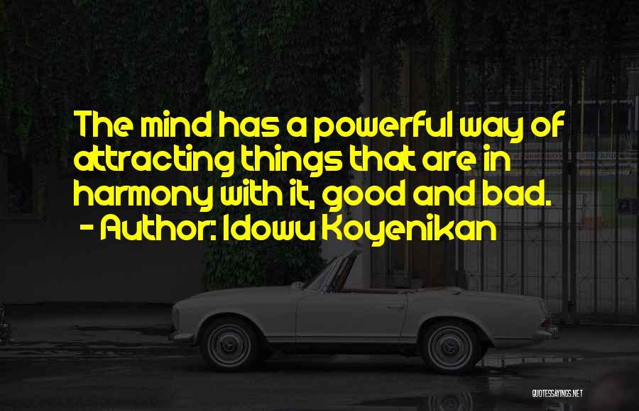 Power Of Law Quotes By Idowu Koyenikan