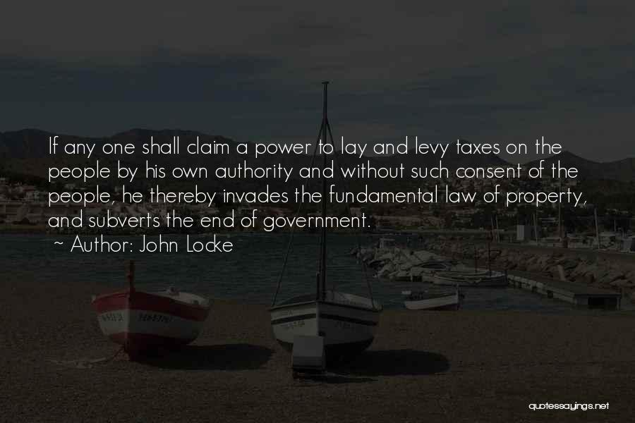 Power Of Law Quotes By John Locke