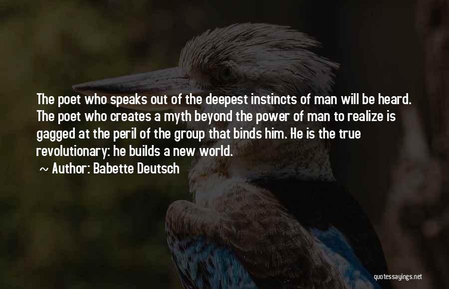Power Of Myth Quotes By Babette Deutsch