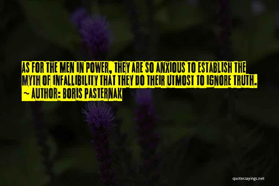 Power Of Myth Quotes By Boris Pasternak