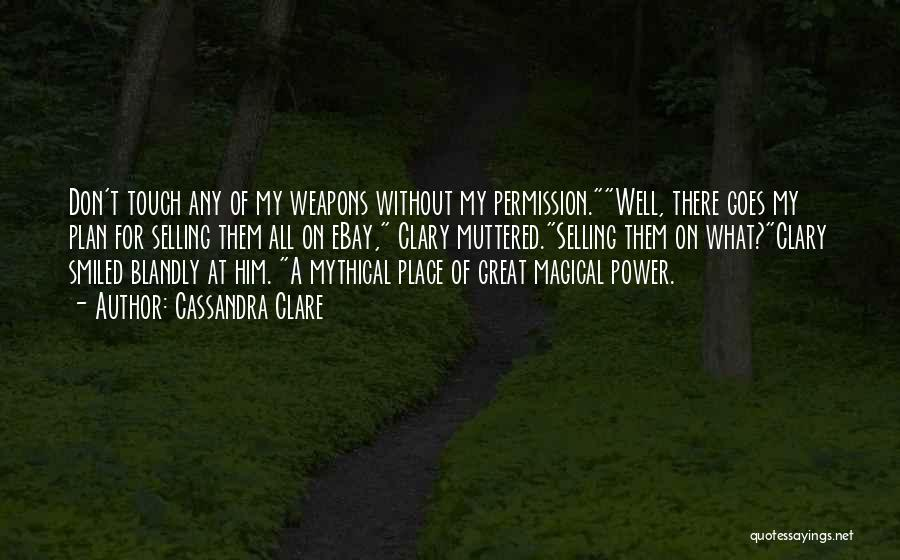 Power Of Myth Quotes By Cassandra Clare
