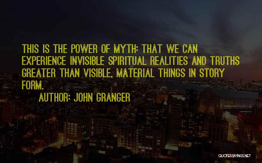 Power Of Myth Quotes By John Granger