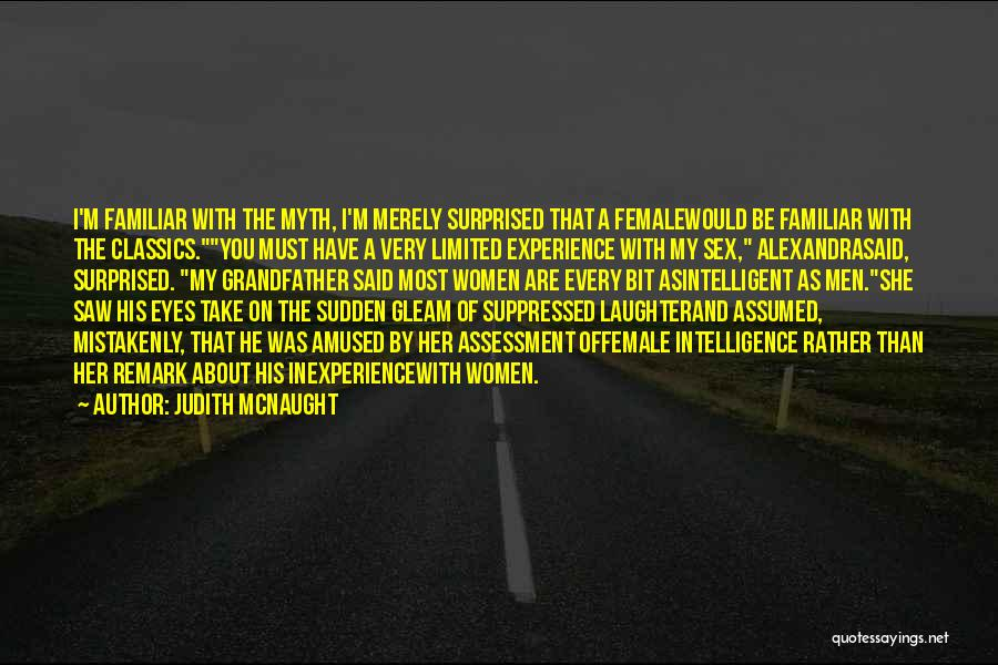 Power Of Myth Quotes By Judith McNaught