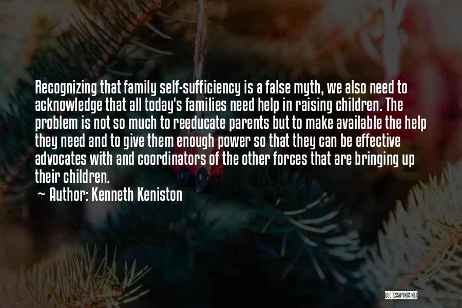 Power Of Myth Quotes By Kenneth Keniston