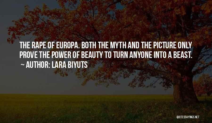 Power Of Myth Quotes By Lara Biyuts