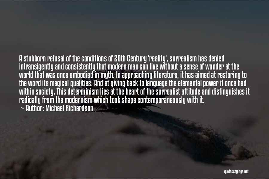 Power Of Myth Quotes By Michael Richardson