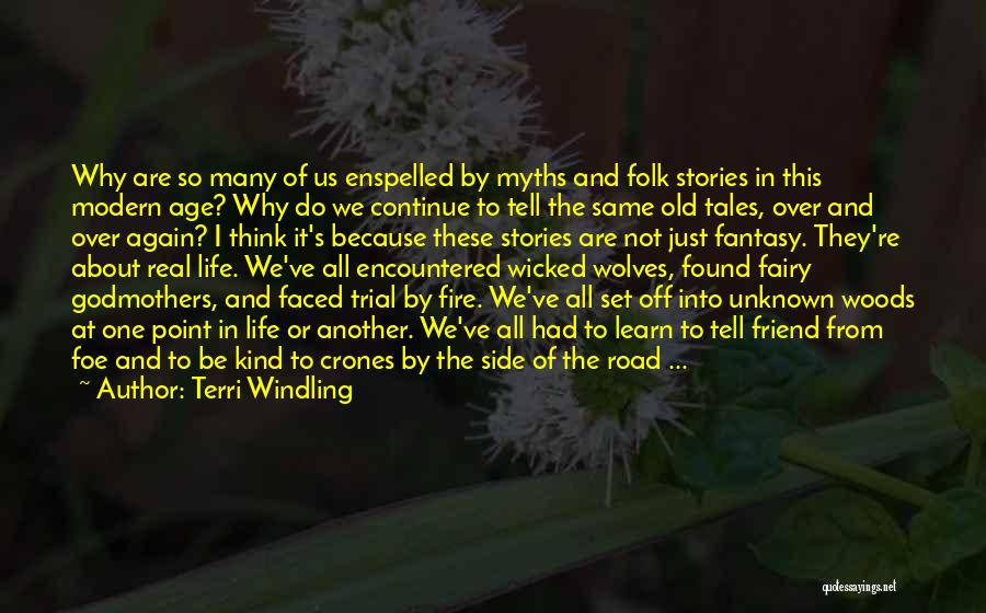 Power Of Myth Quotes By Terri Windling