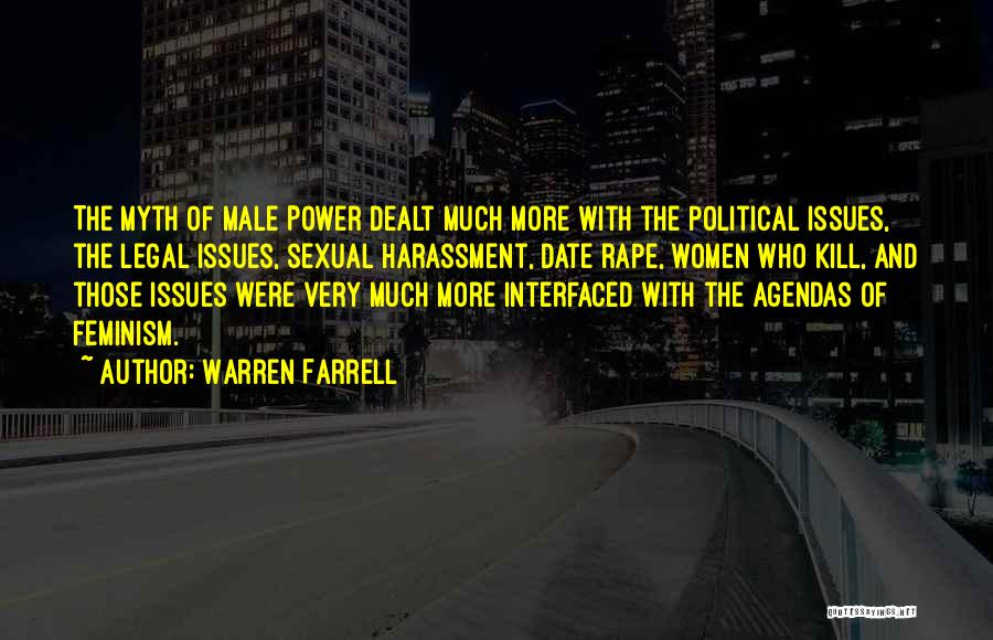 Power Of Myth Quotes By Warren Farrell