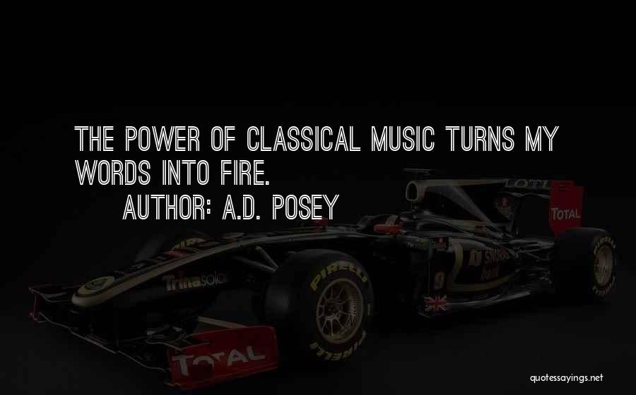 Power Of Storytelling Quotes By A.D. Posey