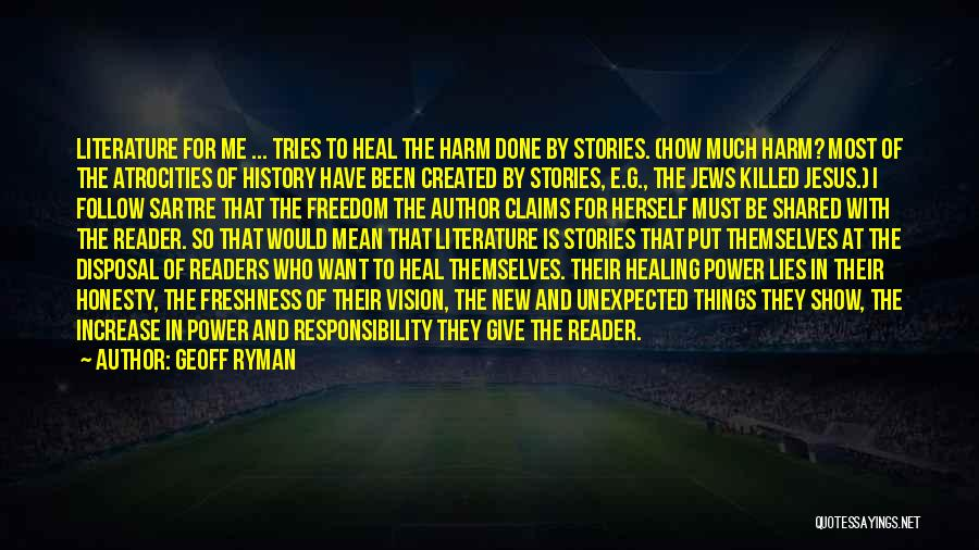 Power Of Storytelling Quotes By Geoff Ryman