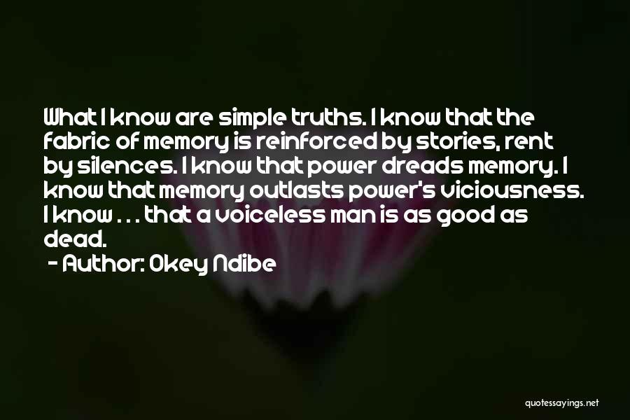 Power Of Storytelling Quotes By Okey Ndibe