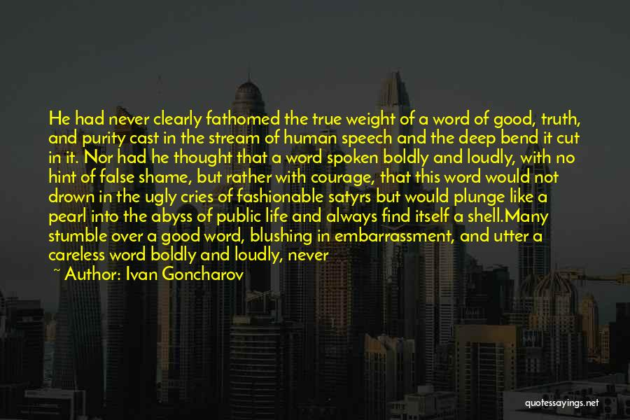 Power Of The Spoken Word Quotes By Ivan Goncharov