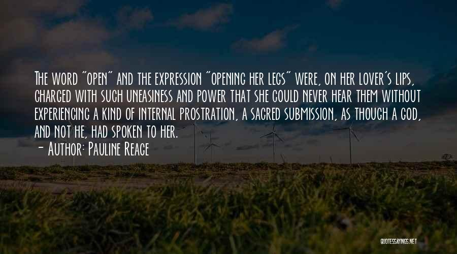 Power Of The Spoken Word Quotes By Pauline Reage