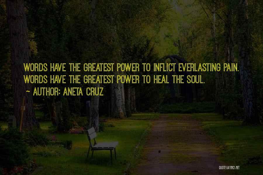 Power Of Writing Quotes By Aneta Cruz