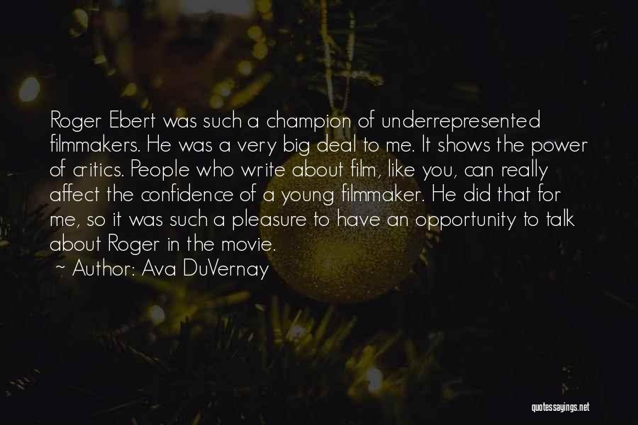 Power Of Writing Quotes By Ava DuVernay