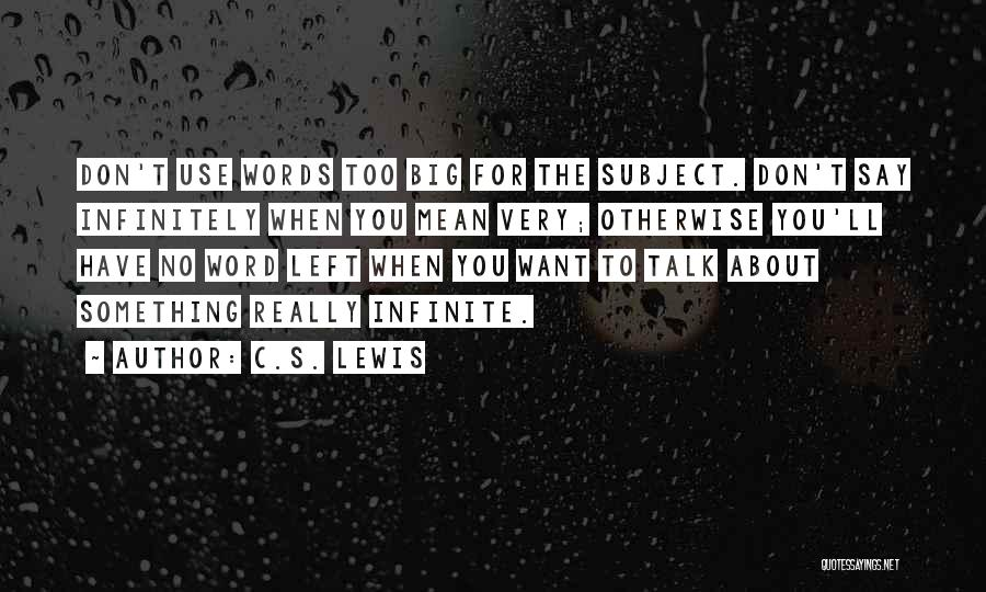 Power Of Writing Quotes By C.S. Lewis