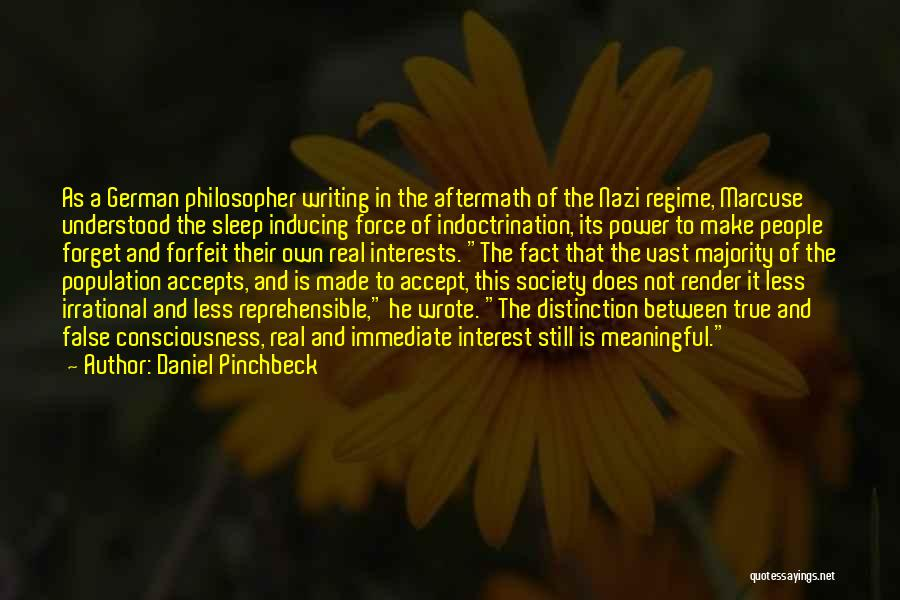 Power Of Writing Quotes By Daniel Pinchbeck