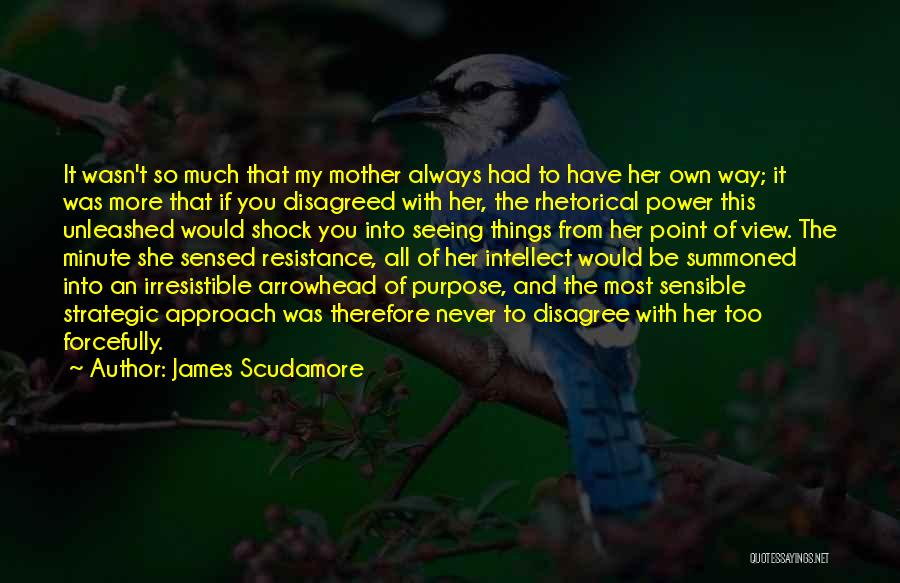 Power Of Writing Quotes By James Scudamore
