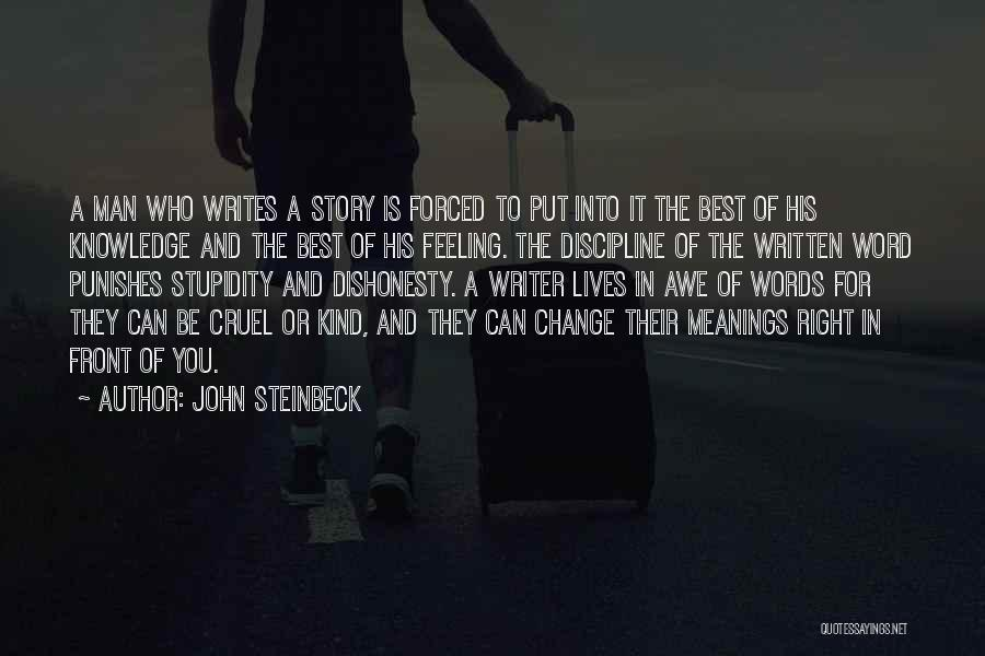 Power Of Writing Quotes By John Steinbeck