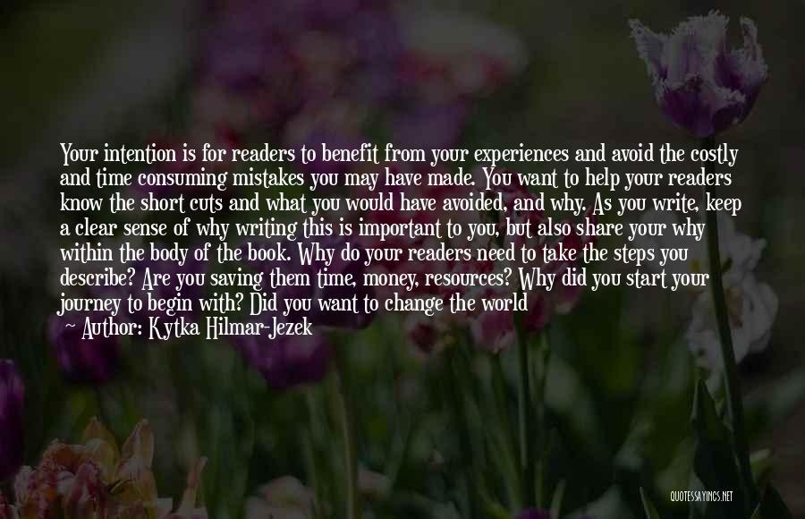 Power Of Writing Quotes By Kytka Hilmar-Jezek
