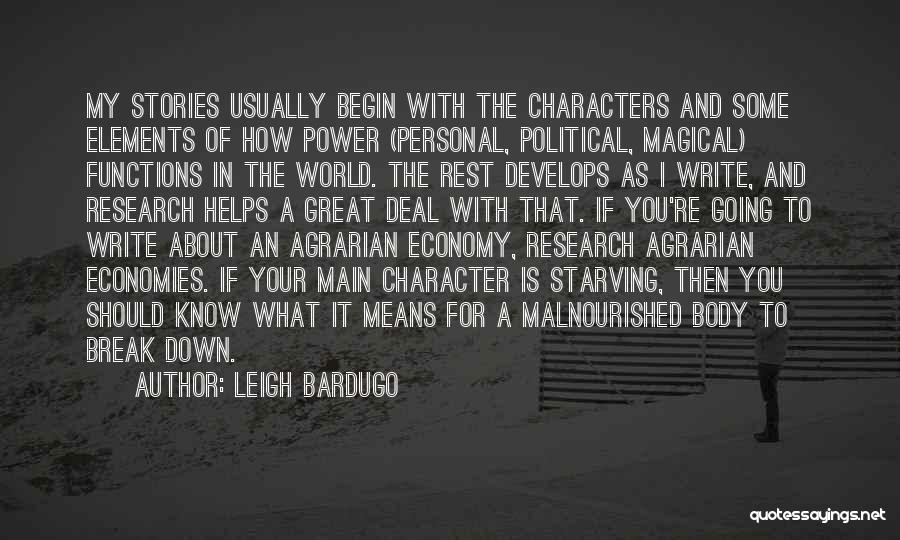Power Of Writing Quotes By Leigh Bardugo