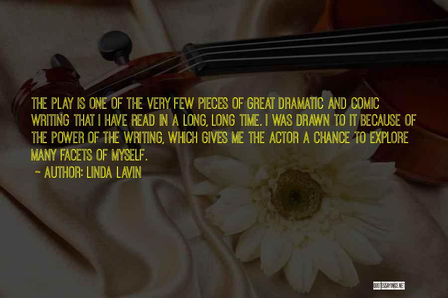 Power Of Writing Quotes By Linda Lavin
