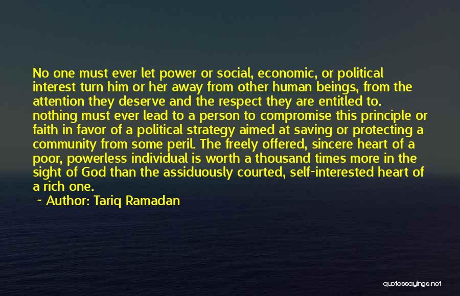 Power Powerless Quotes By Tariq Ramadan