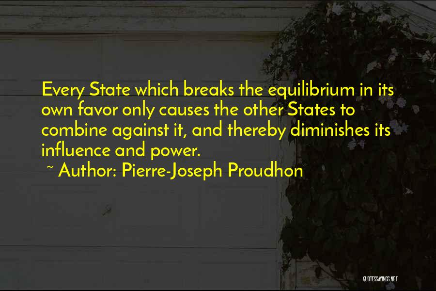 Power To Influence Quotes By Pierre-Joseph Proudhon
