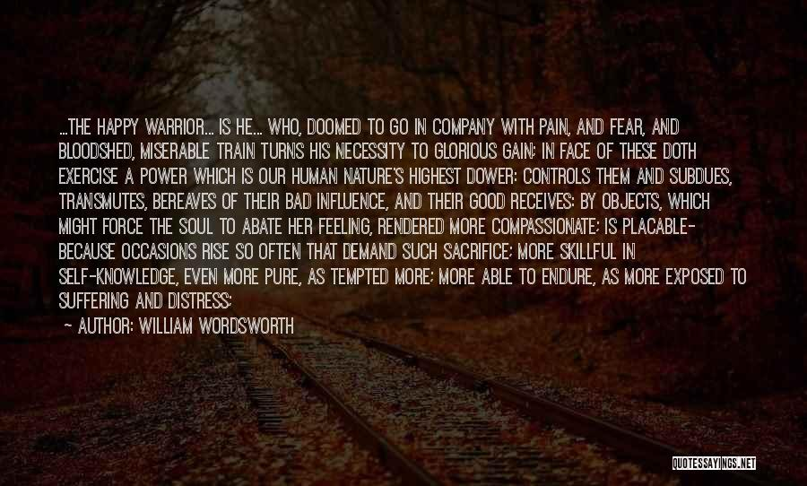 Power To Influence Quotes By William Wordsworth