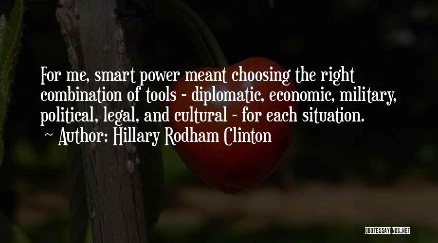 Power Tools Quotes By Hillary Rodham Clinton