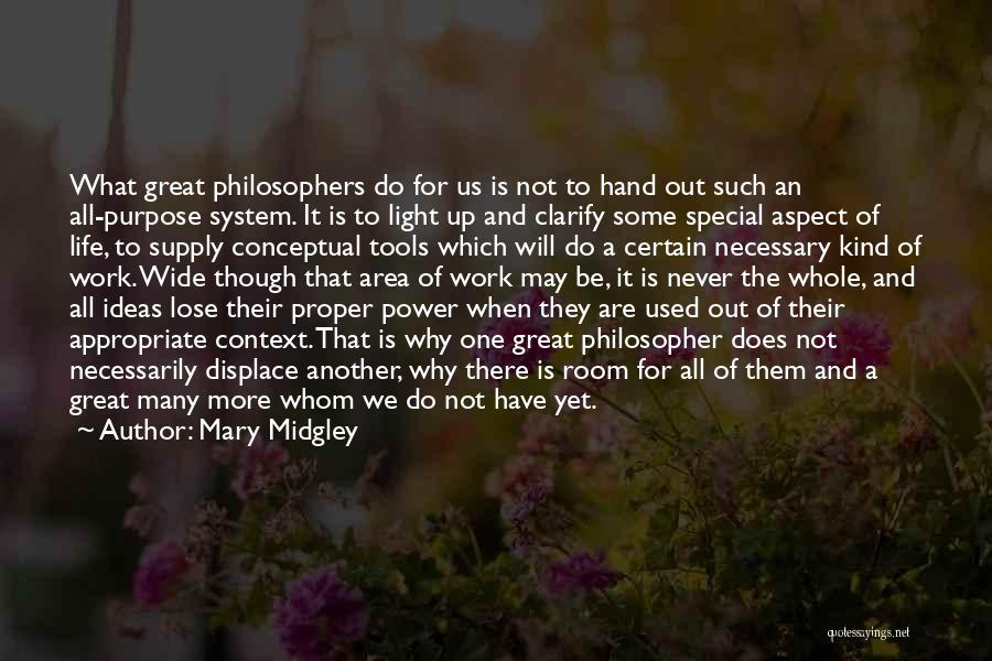 Power Tools Quotes By Mary Midgley