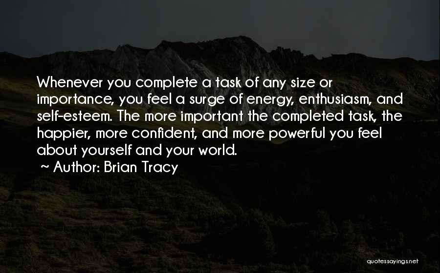 Powerful Confident Quotes By Brian Tracy