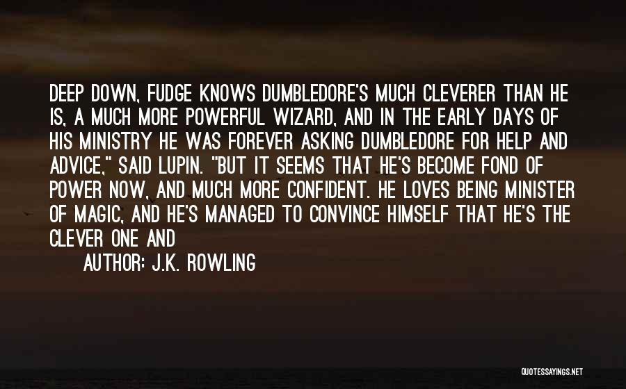Powerful Confident Quotes By J.K. Rowling