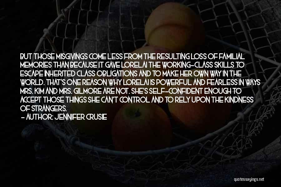 Powerful Confident Quotes By Jennifer Crusie