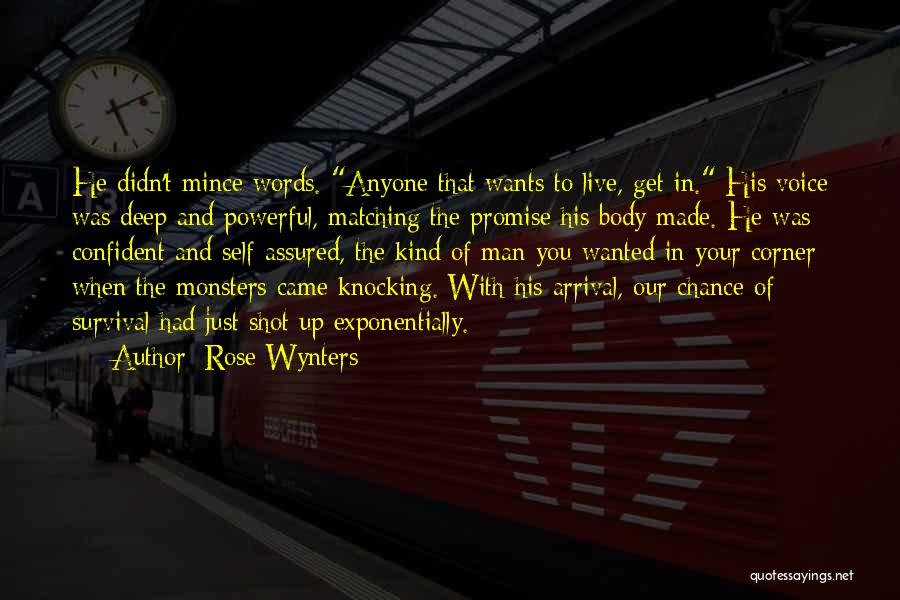 Powerful Confident Quotes By Rose Wynters