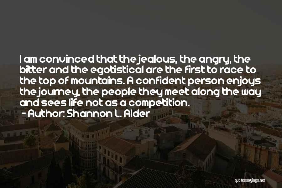 Powerful Confident Quotes By Shannon L. Alder