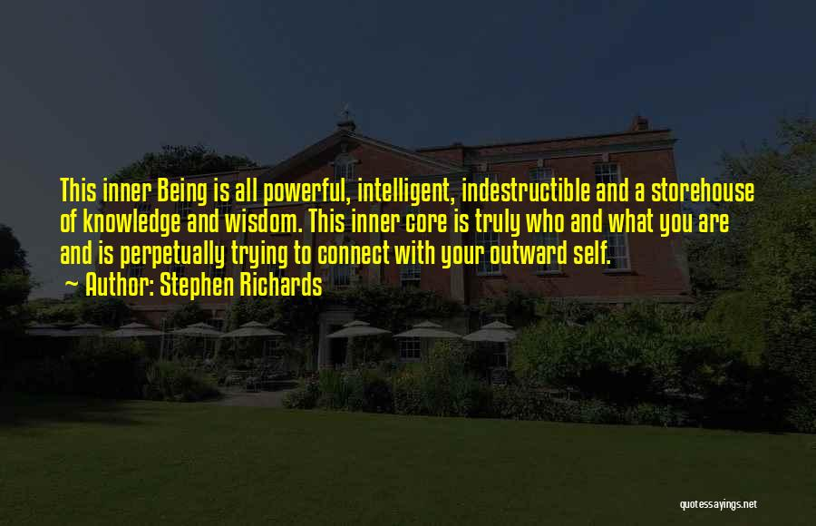 Powerful Confident Quotes By Stephen Richards