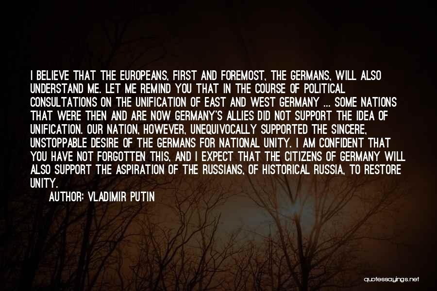 Powerful Confident Quotes By Vladimir Putin