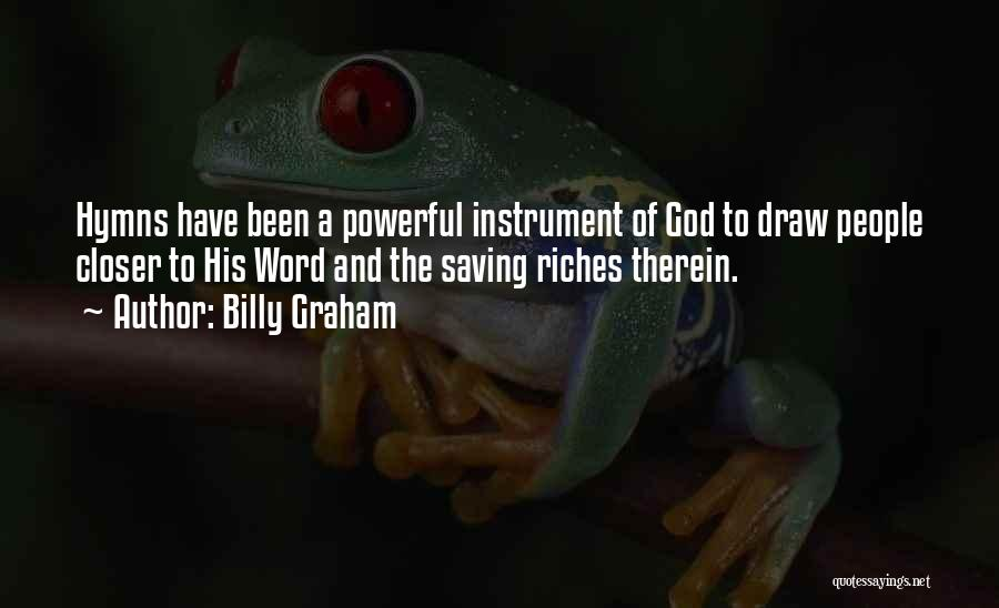 Powerful Word Of God Quotes By Billy Graham