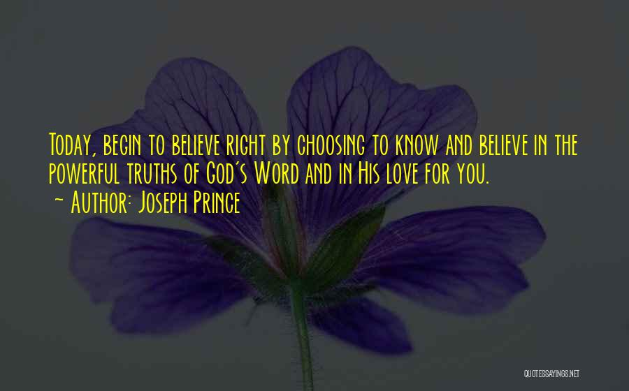 Powerful Word Of God Quotes By Joseph Prince