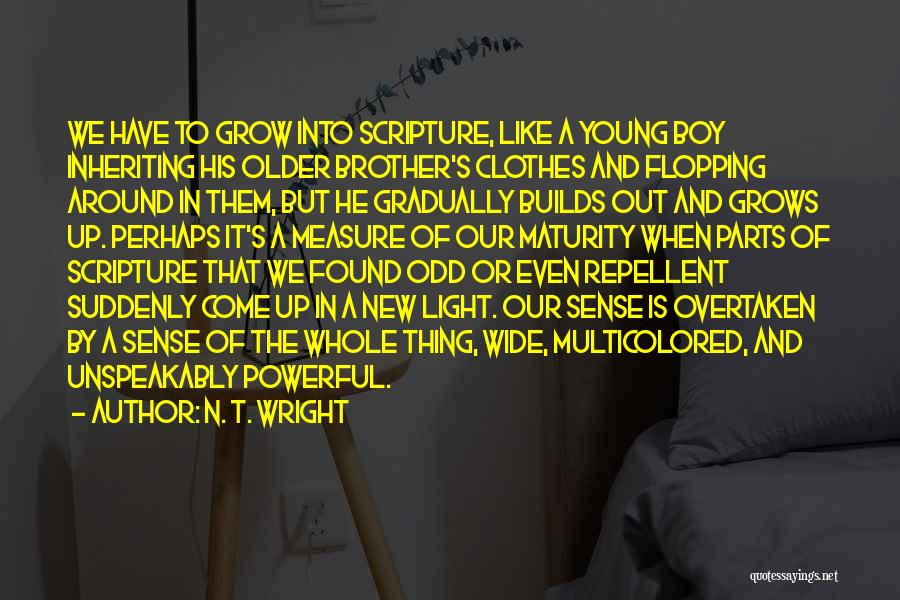 Powerful Word Of God Quotes By N. T. Wright