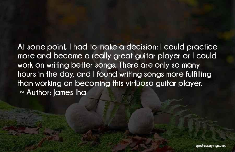Practice Guitar Quotes By James Iha