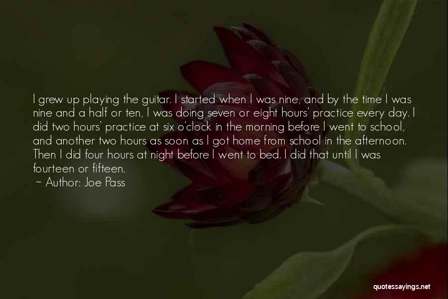 Practice Guitar Quotes By Joe Pass