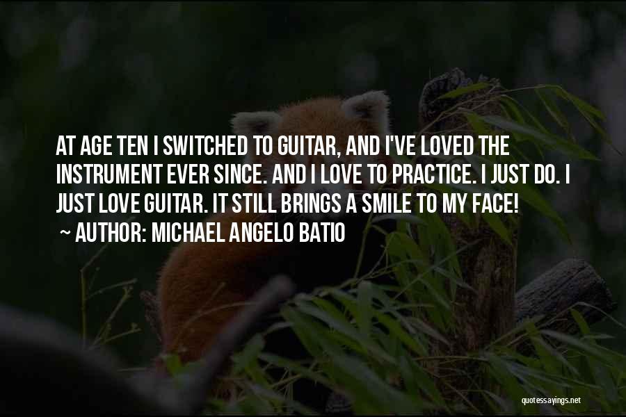 Practice Guitar Quotes By Michael Angelo Batio